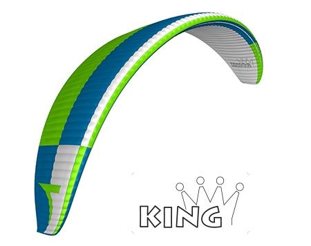 Triple Seven King zielony