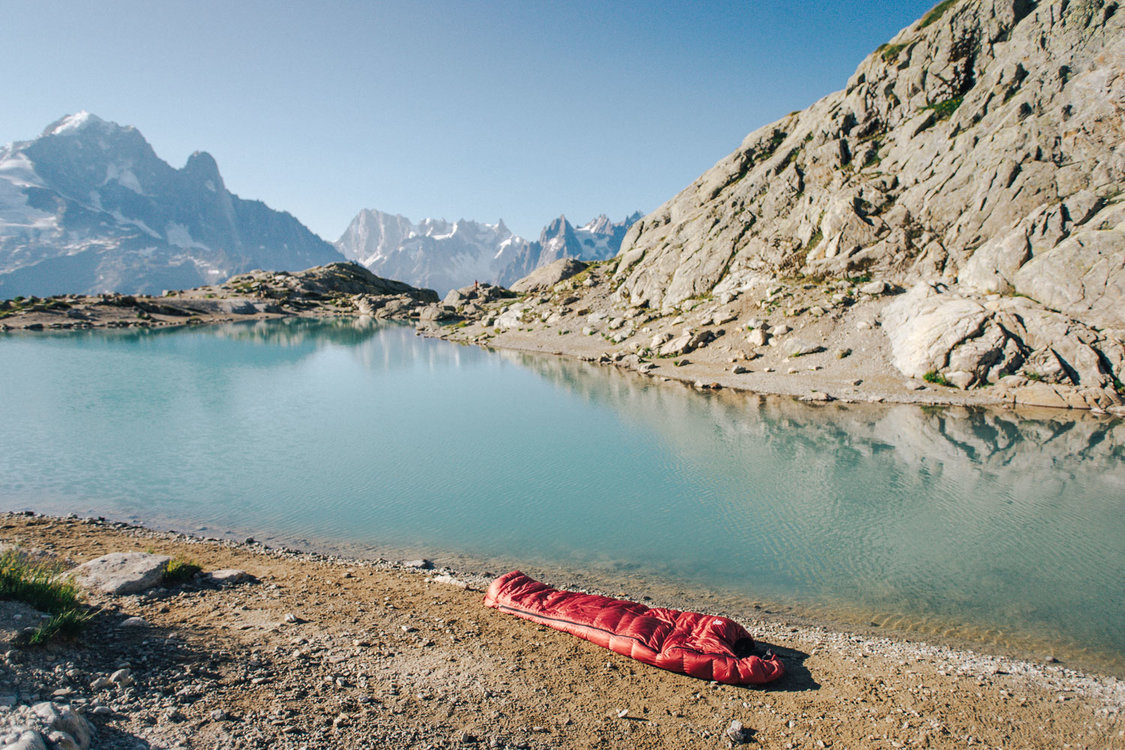 Śpiwór Cumulus w górach