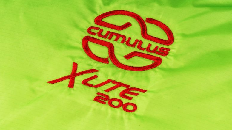Śpiwór puchowy Cumulus X-Lite