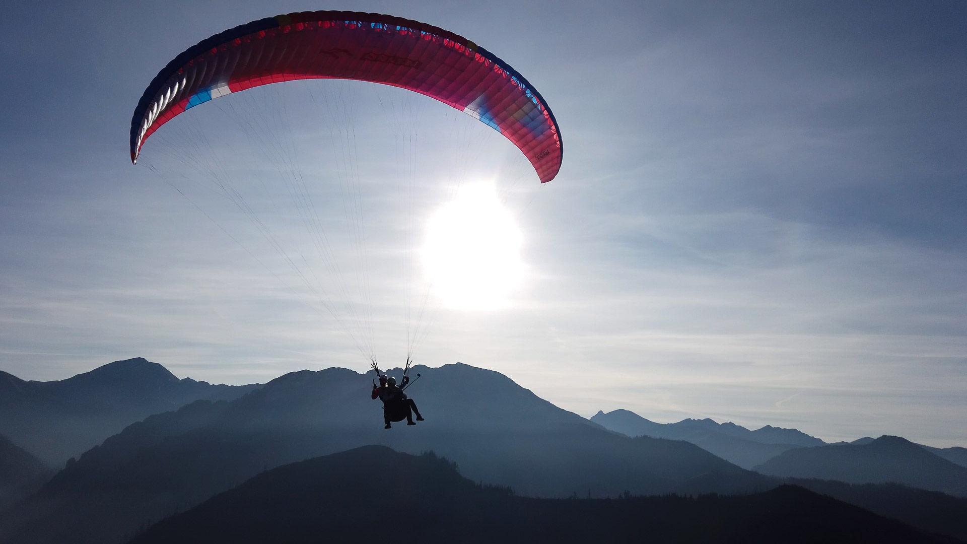 lot widokowy paralotnia swobodna tatry