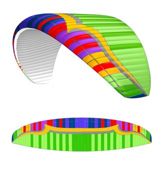 indepArt Color Balletendence air taxi 2 kolor harlekin