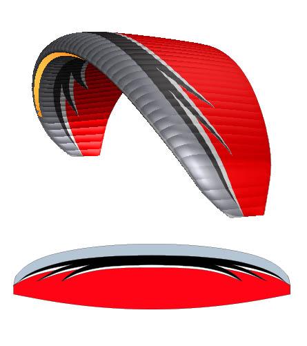 independence tfighter grey black red