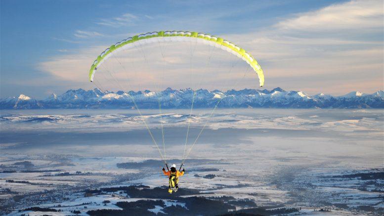 lot widokowy paralotnia swobodna babia gora